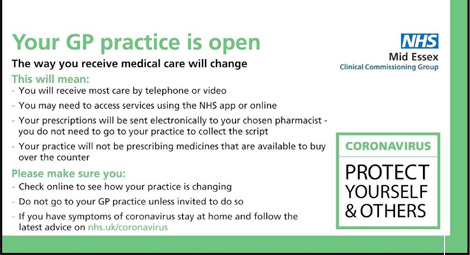 Your GP practice is open